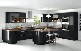 meuble de cuisine noir laqué meuble cuisine noir laque meuble cuisine noir brillant 97