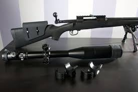 mounting scope rings images How to install a scope on a rifle snapguide jpg