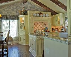French Style Kitchen Cabinets Vintage French Country Kitchen Design Picture 13 Lanierhome
