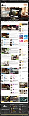 design magazine site html5 and css3 responsive templates with amazing ux design