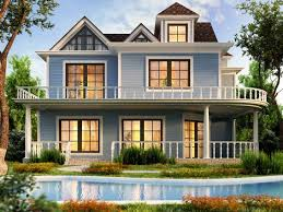 blue exterior house paint with best exterior colors for colonial