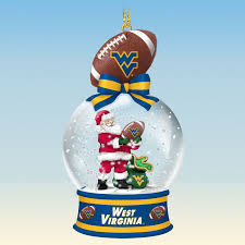west virginia mountaineers snow globe ornaments your 1st one is