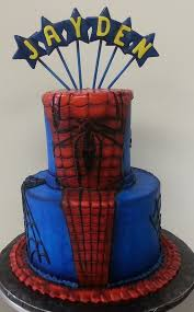 7 best spiderman birthday party images on pinterest cake ideas