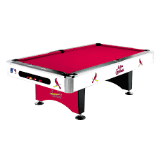 St Louis Cardinals Pool Table