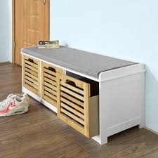 File Storage Ottoman File Cabinet Bench Seat Filing Cabinets
