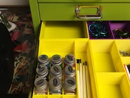 Cabinet Drawer Inserts Testors Paint Organizer Drawer Insert For Bisley Cabinet By