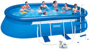 Intex Pool 14x42 Outdoor How To Build Intex Swimming Pools For Outdoor Decoration