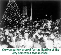 1960 s christmas tree lights christmas in birmingham downtown part 2