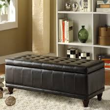Bedroom Upholstered Benches Ottoman Mesmerizing Tufted Storage Bench Upholstered Benches