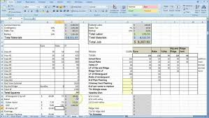 Project Cost Tracking Spreadsheet Pricing Spreadsheet Template Virtren Com