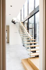 Contemporary Stair Parts by Stairs Contemporary Staircase Architecture American Oak