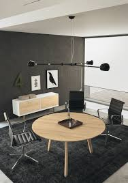 Black Glass Boardroom Table Contemporary Boardroom Table Glass Wood Veneer Round Rail
