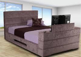 Tv Bed Frames Griffin Upholstered Tv Bed Frame Upholstered Beds Beds