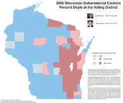 Counties In Wisconsin Map by Wisconsin Election Maps And Results University Of Wisconsin Eau