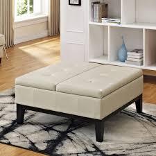 Padded Ottoman Furniture Small Ottoman Stool Storage Ottoman Upholstered