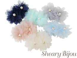 flower hair accessories shearybijou rakuten global market happy flower banana clip
