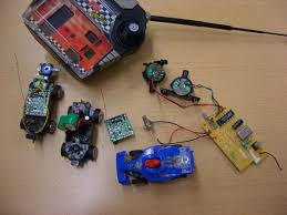 using rc car parts as remote control 5 steps