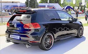 black volkswagen golf volkswagen golf gti black dynamic 2012 widescreen exotic car