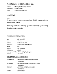 sle resume for part time job in jollibee logo resume sle jollibee crew 28 images objective for resume