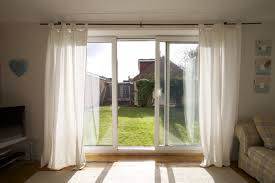 Curtains For Glass Door Tips Fitting Sliding Glass Door Curtains Adeltmechanical Door Ideas