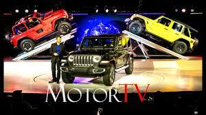 la auto show 2017 all new 2018 jeep wrangler reveal l press
