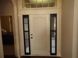 Sidelight Panel Blinds Side Light Windows Entry Door With One Simply Designed Sidelight
