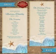 cheap printed wedding programs destination wedding programs printed cheap programs for wedding
