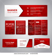 Happy New Year Business Card Banner Flyers Brochure Business Cards Gift Stock Vector 444848500