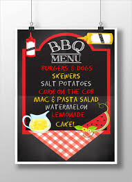 menu template for mac bbq menu templates 27 free psd epd documents free