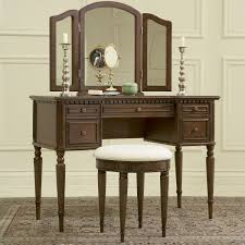 Vanity Table Bedroom Appealing White Makeup Vanity Table With Lighted Mirror
