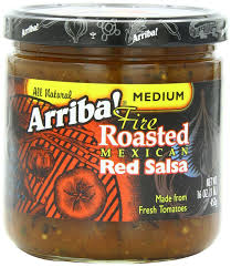 amazon com arriba fire roasted mexican medium red salsa 16