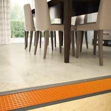 Dining Room Tile by Large Tile Flooring Use A Large Format Concrete Looking Tile