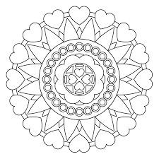 free printable mandala coloring pages ideas kids