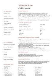 Grocery Store Cashier Job Description For Resume by Cashier Resume Example Cashier Cv For Cashier Resume Job