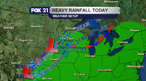 Weather Map Wisconsin by Wisconsin Flooding From Two Rounds Of Thunderstorms Fox21online