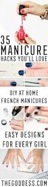 35 cool manicure hacks the goddess