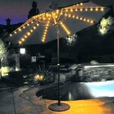 best solar lights for shaded areas awesome 9 ft patio umbrella with solar lights for solar light