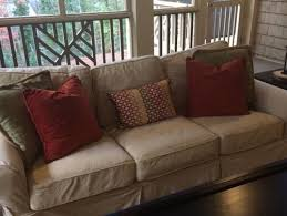 i want to buy a sofa should i buy 2 pottery barn sofas of cl if they were on screen porch