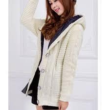 autumn hooded cashmere sweater u2013 mookyboutique
