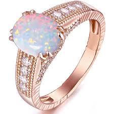 walmart white gold engagement rings white opal 18kt gold tone engagement ring walmart