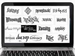 how to write your name in graffiti letters on paper how to make an ambigram 9 steps with pictures wikihow