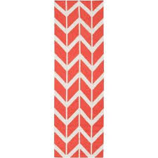 Red Runner Rug Poppy Red Runner 1 U0027 2 U0027 The Home Depot