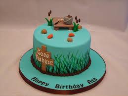 fish cake toppers interior design amazing fishing themed cake decorations decor