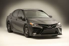 modified toyota camry what did toyota on display at the 2017 sema