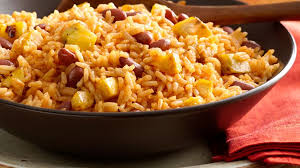 rice with beans and sweet plantain recipe que rica vida