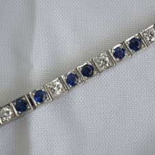 bracelet diamond sapphire images Diamond and sapphire bow bracelet stylish vintage jewelry shop jpg