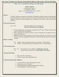 example of education resume sample resume for university teaching positions frizzigame example of resume for teacher