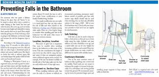 vnsny choice rn recommends important senior bathroom safety tips