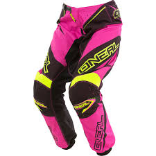 youth motocross gear combos o u0027neal element women pink motocross dirtbike gear 2017