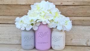 Mason Jar Baby Shower Ideas Purple And Gray Baby Shower Decorations Purple And Gray